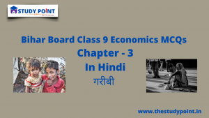 Read more about the article Bihar Board Class 9 Economics MCQs Chapter – 3