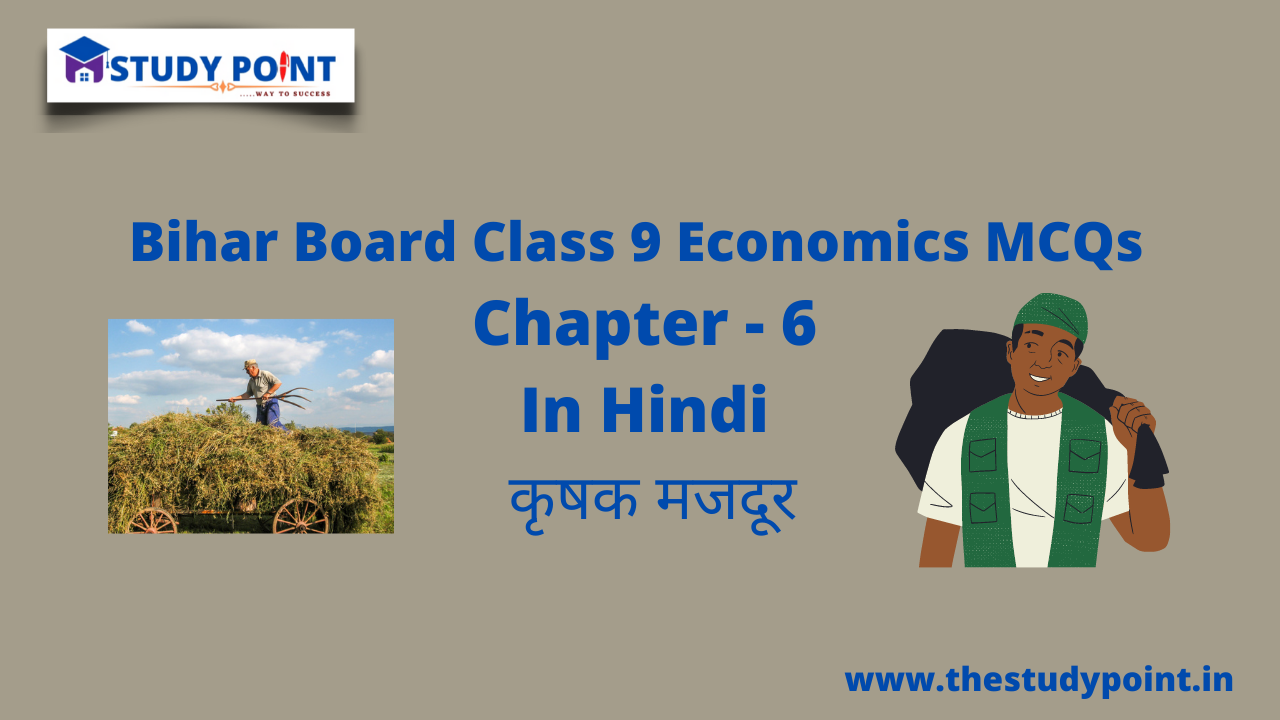 Read more about the article Bihar Board Class 9 Economics MCQs Chapter – 6