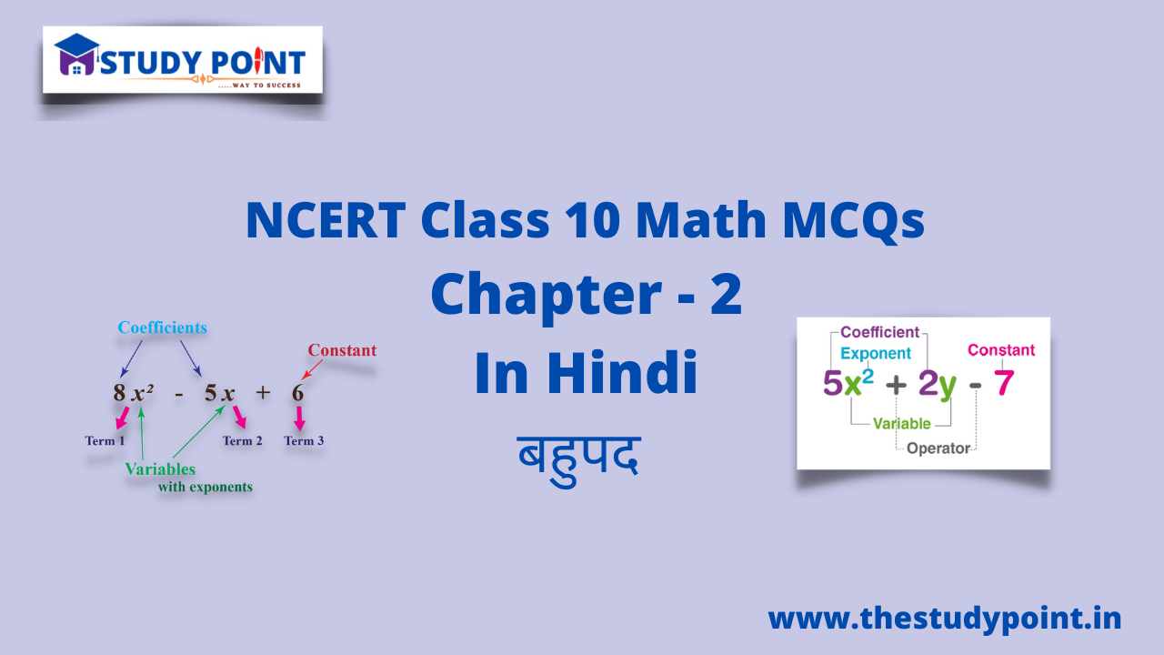 You are currently viewing Class 10 Math MCQs Chapter 2 बहुपद