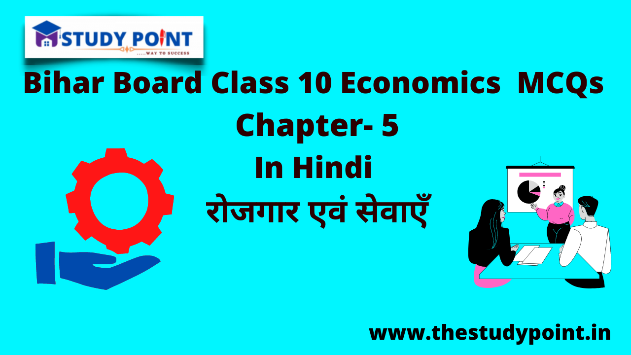 Read more about the article Bihar Board Class 10 Economics  MCQs Chapter – 5