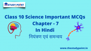 Read more about the article Class 10 Science MCQs Chapter -7