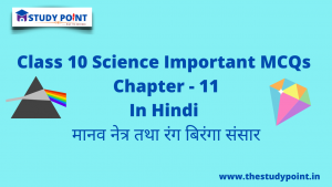 Read more about the article Class 10 Science MCQs Chapter – 11