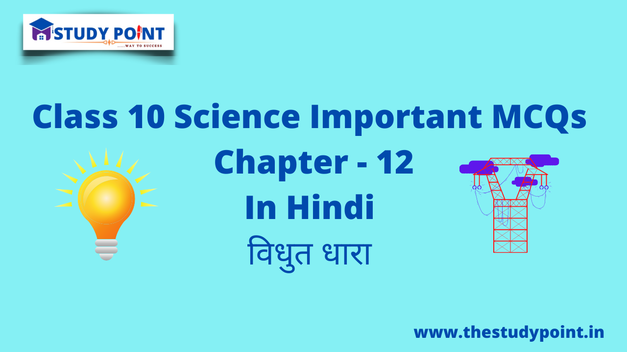 You are currently viewing Class 10 Science MCQs Chapter -12
