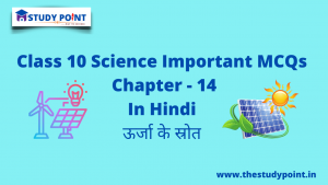 Read more about the article Class 10 Science MCQs Chapter -14